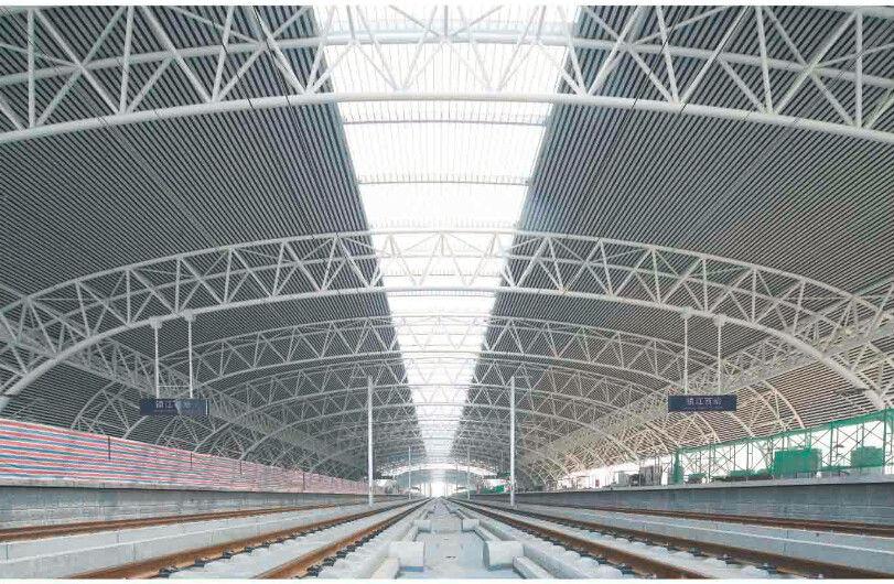 Prefabricated Modern Industrial Steel Buildings Wide