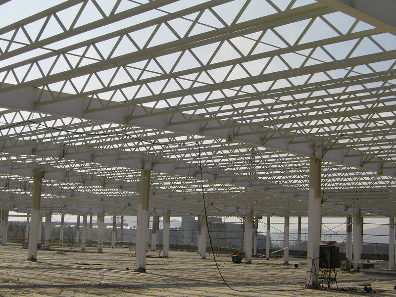 High Strength Pipe Truss And H Section Beams Structural