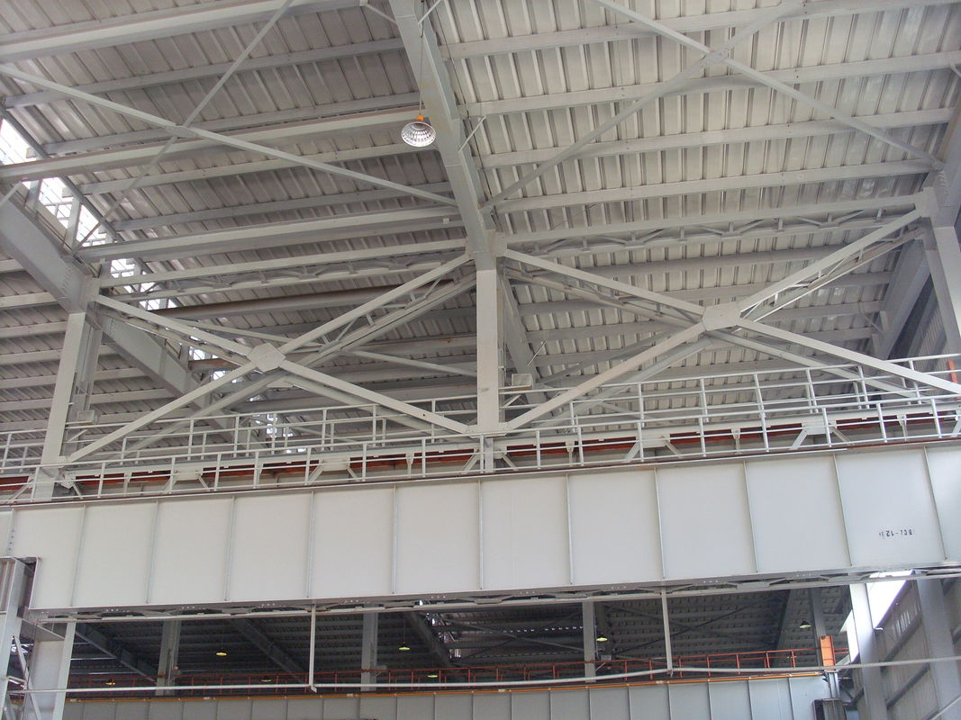 Structural Steel Framing : Steel framing warehous e heavy structure project