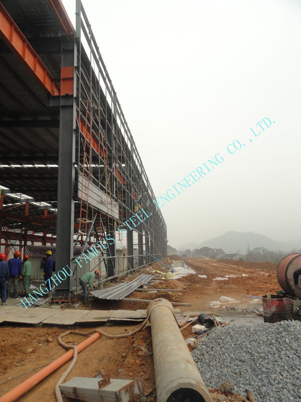 87 X 92 Prefabricated ASTM Industrial Steel Buildings With Grade A36 ...