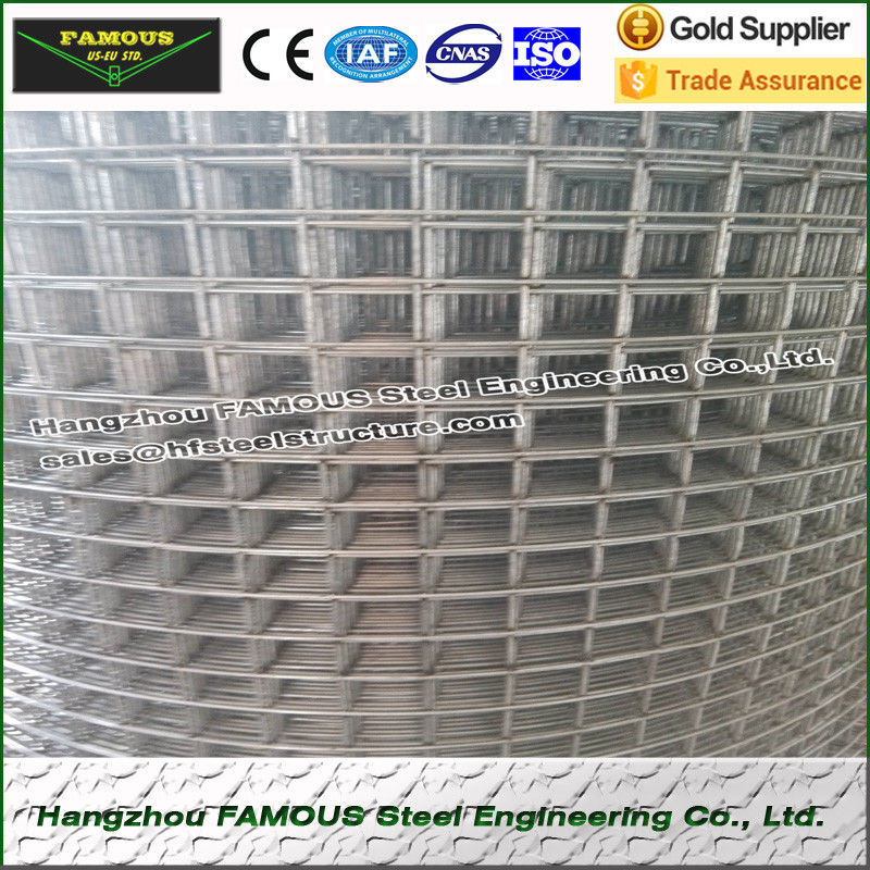 Cold Rolling Concrete Reinforced Steel Mesh High Tensile For Industrial