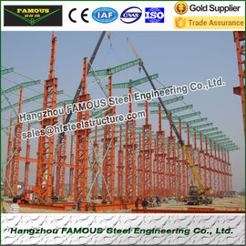 China Multi Gable Span Steel Framed Buildings Prefabricated ASTM Standards factory