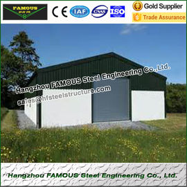 China Prefabricated Industrial Steel Buildings Steel Sheds And Steel Garage factory