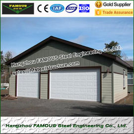 China Barn Store Industrial Steel Garage 20m Length 12m Width 4.5m Height factory