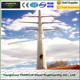 China Substation Frameworks Industrial Steel Buildings Tubular Towers factory