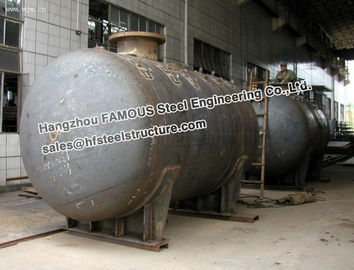 China Galanized Steel Industrial Pressure Vessel Vertical Storage Tank Equipment factory