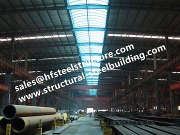 China EPS Sandwich Panel Covered Prefabricated Steel Buildings Workshop And Shed factory