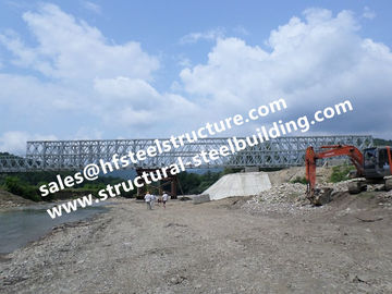 China Prefabricated Steel Bailey Bridge Modular Designed factory