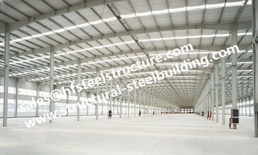 China Engineering Industrial Steel Buildings with Q235 Q345 Steel Material factory