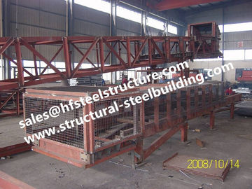 China SGS Industrial Steel Buildings For Towers Chutes Conveyor Frame / Material Handling Equipment factory