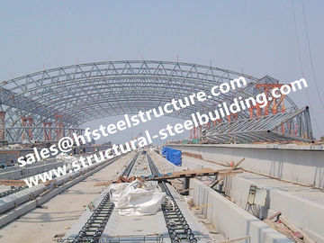 China H-beam column Type Steel Structure Buildings , Structural Steel Fabricator factory