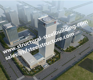 China Commercial Residential multi storey steel frame buildings And High Rise Building Contractor factory