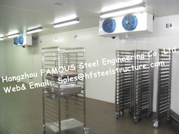 China Cold Storage Walk in Commercial Freezer And Individual Cooler Box Made of Sandwich Panel factory