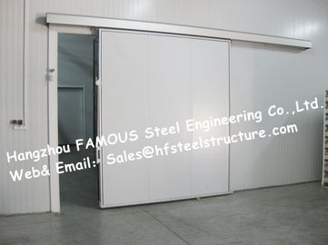 China 50mm , 100mm Thickness Walk In Cold Room  And Blast freezer Made of Polyurethane Panel factory