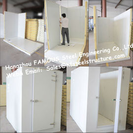 China Commercial Freezer Solar System Walk in Freezer Made of Insulated Material factory
