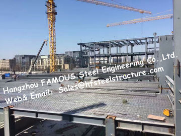 China Complete Structural Steel Fabrications For Industrial Steel Building factory
