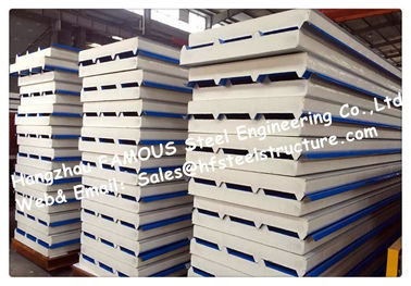 Valuation for EPS / PUR / PIR Chinese Supply Factor in Cold Room Sandwich Panels