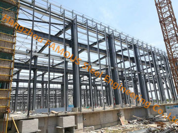 China Painted / Hot Dip Galvanized Multi-storey Steel Building General Contractor High Storey Steel Buildings factory