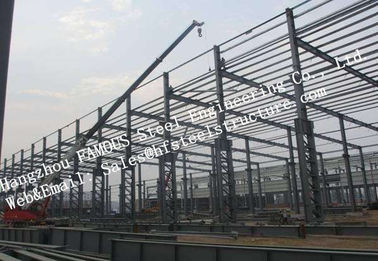 China steel framing prefabricated Industrial Steel Buildings quickly assembled construction factory