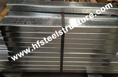 Galvanized C Purlin Steel Building Kits For Construction Material / Bracket
