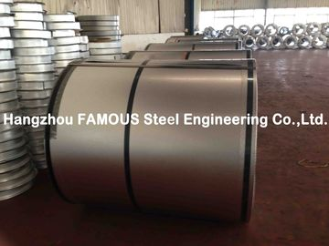 ASTM Corrugated Steel Sheet Galvanized Steel Coil For Warehouse