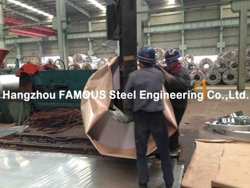 China Outside Walls Applied Galvanized Steel Coil / GL Galvalume Sheet factory
