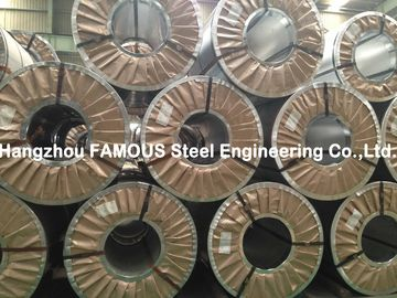 China Hot Dipped Chromated / Oiled / Galvanized Steel Coil Zinc , ASTM Steel Sheet factory