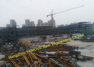 China EPC Project Multi-Storey Steel Building For Modern Glass Curtain Wall Office Building factory