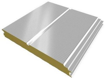 China Corrugated Steel Sheets Prepaint Galvalume Sandwich Panel Metal Roofing Sheets EPS, PU factory