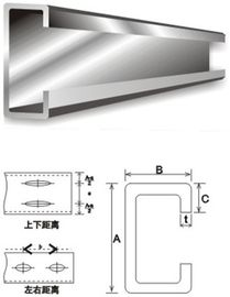Structural Steel Building Material Galvanised Steel Purlins C And Z Purlin Steel