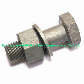 China Hex Bolts Steel Buildings Kits For Steel Frame Building And Bridge Construction factory