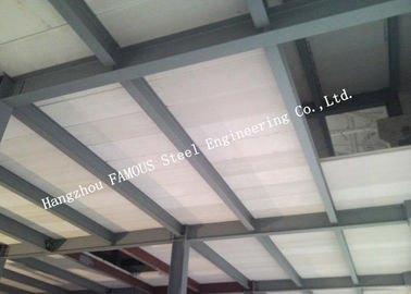 China Steel Modular House Pre-Engineered Building Made By Steel Frame And Prefab-I Panel factory
