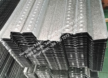 China Galvanised Composite Floor Deck System Reinforced Concrete Floor Deck factory