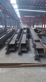 China All Kinds Of Steel Profiles H Beams C and Z Purlin Angle Plate Fabrication factory