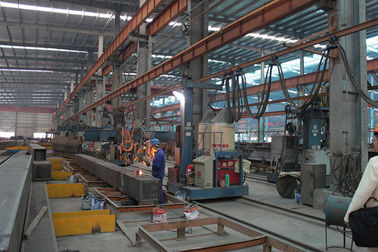 China Frame Building Structural Steel Fabrications Resistance To Bad Climates factory
