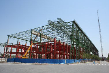 China Hangar And Shed Prefabricated Structural Steel Fabrications Structural Supports factory
