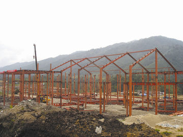 China Modular Prefabricated Steel Structure Buildings With Long Life And Short Process Time factory