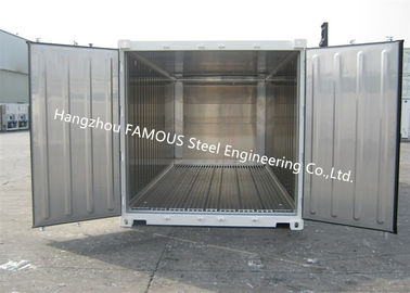 China Movable Cold Storage Walk In Freezer Decoration Portable Chilled Container factory