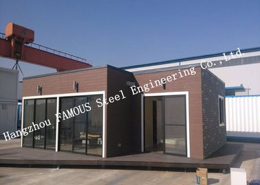 European Style Modular Prefab Container House For Accommodation , Quick Assembly