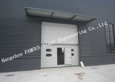 China Private Customized Industrial Garage Doors For Warehouse / Cold Room Storage factory