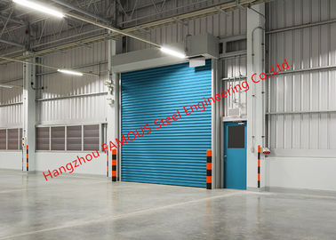 China Insulated Factory Rolling Gate Industrial Garage Doors Lifting For Warehouse Internal And External Use factory