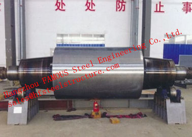 China High Carbon Tool Steel Solid Forged Backup Rolls For Cold And Hot Rolling Mills factory