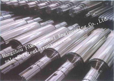 China Stainless Steel High Precision Forged Steel Work Rolls For Cold - Rolling Mills factory