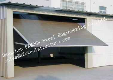 China Modern Aluminum Industrial Garage Doors Present Contemporary Elegance With Sleek Lines factory