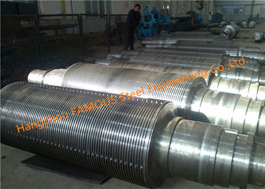 China Forged Heavy Duty Work Mill Embossing Rolls Stainless Steel Pin Squeeze Operating Rollers factory