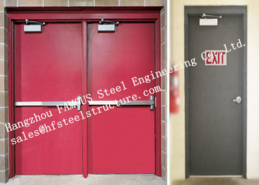 China Residential Steel Fire Resistant Industrial Garage Doors With Remote Control factory