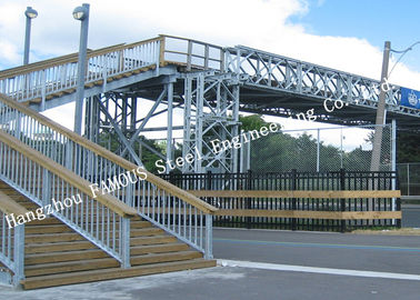 China City Sightseeing Prefabricated Pedestrian Steel Bailey Bridges Structure Skywalk Bridge factory