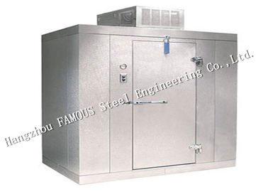 China Steel Building Walk In Cooler & Freezer Cold Room Fishing Equipment Chiller For Restaurant factory