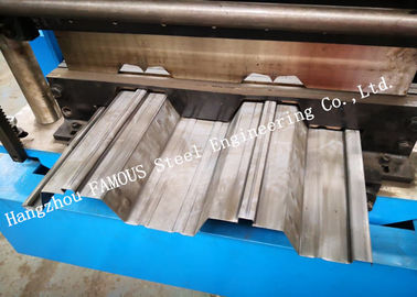 China Galvanized Steel Composite Metal Decking Formwork For Floor Slab System Construction factory