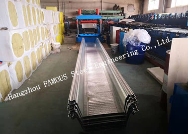 China Multiple Production Lines Comflor 210 Alternative Composite Floor Deck Galvanized Steel Composite Slab factory